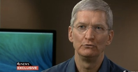 "Apple's Tim Cook On PRISM: ""There Is No Back Door. The Government Doesn't Have Access To Our Servers"" 