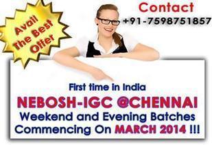 Nebosh Training in India | Nebosh Course Chennai | Nebosh IGC - SmartHSE | Nebosh IGC, IOSH, ADOSHEM and Other Safety Courses | Scoop.it