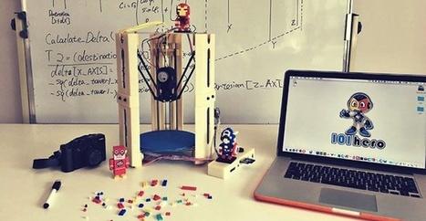 101 Hero es una impresora 3D que puede ser tuya por menos de 45 euros | TIKIS | Scoop.it