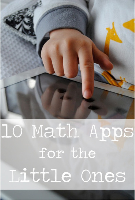 10 Math Apps for the Little Ones · Playful Learning | iPads, MakerEd and More  in Education | Scoop.it