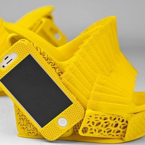 3D-Printed Shoes Have Built-In iPhone Case | Macwidgets..some mac news clips | Scoop.it