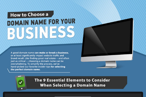 How to Choose the Perfect Domain Name - BrandonGaille.com | Marketing, SMM, SEO | Scoop.it