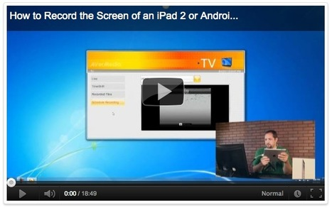 How To Do Screen-Recordings, Video Tutorials and Screencasts on your iPad or iPhone | Business and Economics: E-Learning and Blended Learning | Scoop.it