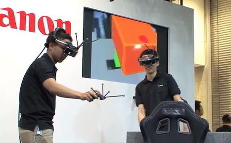 Le système de réalité mixte de Canon délivre un environnement interactif | Innovation & Sérendipité | Scoop.it