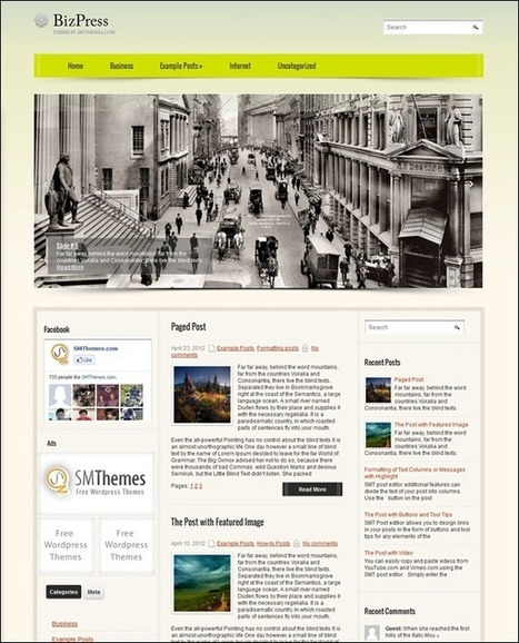 45+ Best Free WordPress Themes for Mobile Friendly Websites | Template & Webdesign | Scoop.it