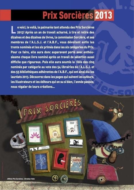 Prix Sorcières 2013 | Livres & lecture | Scoop.it
