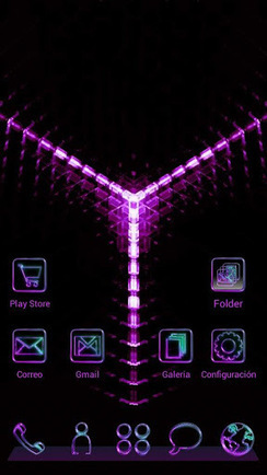 GlowPurple Next Launcher Theme v1.0 (paid) apk download | ApkCruze-Free Android Apps,Games Download From Android Market | Shaa♥ | Scoop.it
