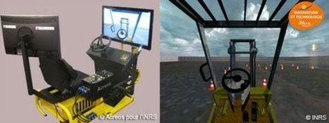 Simchar, simulateur de conduite de chariot élévateur - INRS   Promotion de la santé au travail   Scoop.it