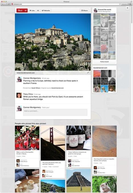 Pinterest Unveils New Website Design to the Public | Content Marketing Bytes | Scoop.it