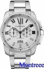 Calibre De Cartier Chronograph Hommes Montre W7100045 | buy cheap replica watches | Scoop.it
