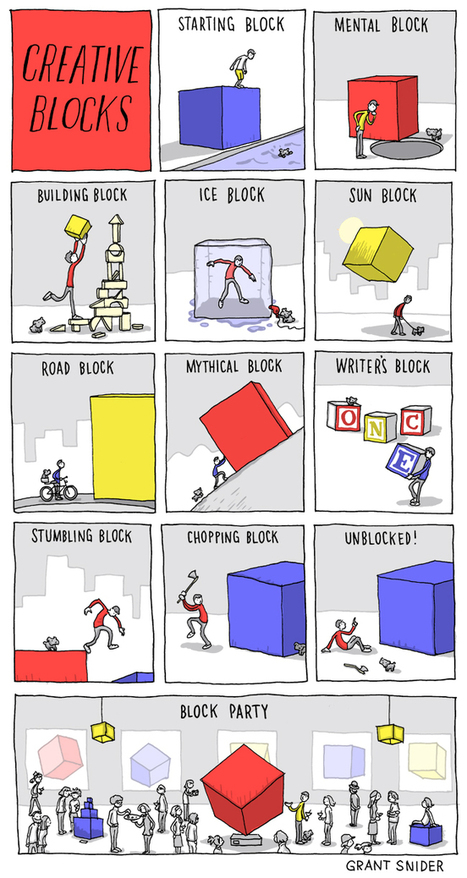 12 Creative Blocks Holding Back Your Writing | Litteris | Scoop.it
