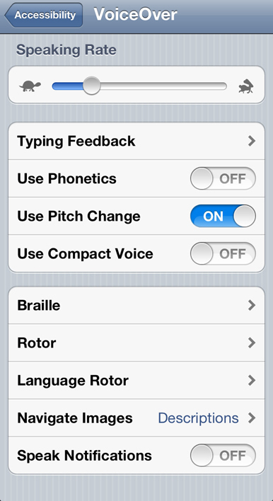 Up close with iOS 5: Accessibility features | Macworld | AssistiveTechnology | Scoop.it