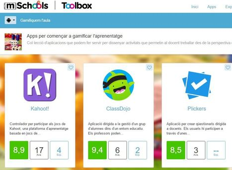 Apps educatives validades per docents | Gamifiquem l'aula  | FOTOTECA INFANTIL | Scoop.it