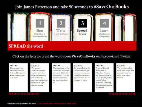 James Patterson is pissed: Calls out Obama for book support | Book Patrol | Librarysoul | Scoop.it