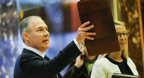 Trump to pick oil ally Pruitt to head EPA | American Government Today | Scoop.it