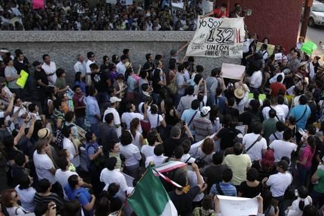 Mexique : le mouvement  «Yo soy 132» bouscule la campagne présidentielle | Indigné(e)s de Dunkerque | Scoop.it