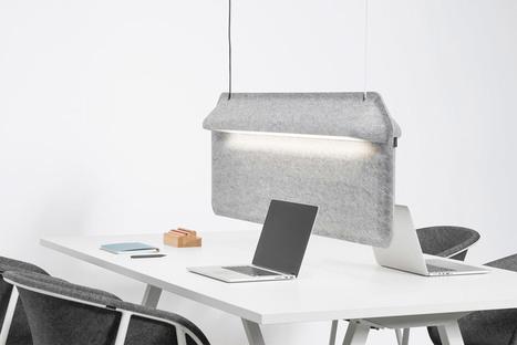 """De Vorm's Workspace Divider lamp """"shields users""""   Bureau, travail : réflexions, évolutions, design   Scoop.it"""