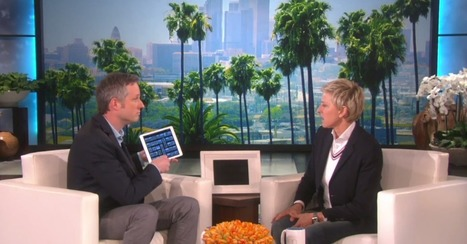 Magician stuns Ellen DeGeneres with iPad sorcery | Prozac Moments | Scoop.it