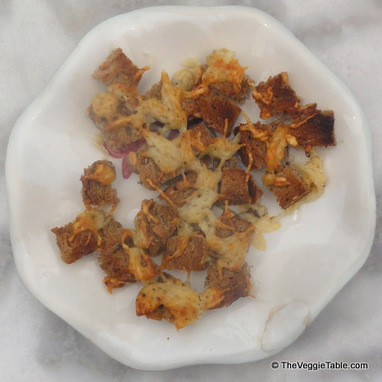 Cheesy Croutons | Vegetarianism | Scoop.it