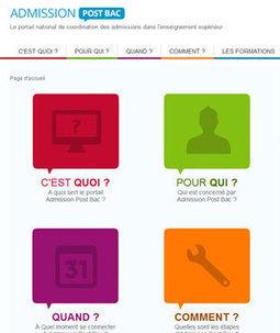 APB 2014 : le site admission-postbac est déjà en ligne - reussir ma vie !   Orientation   Scoop.it