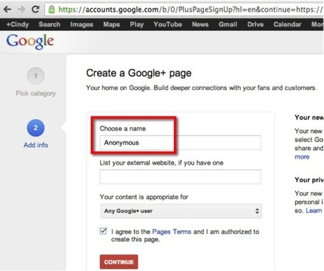 How To Leave Anonymous Business Reviews In Google+ | Search Engine Marketing Trends | Scoop.it