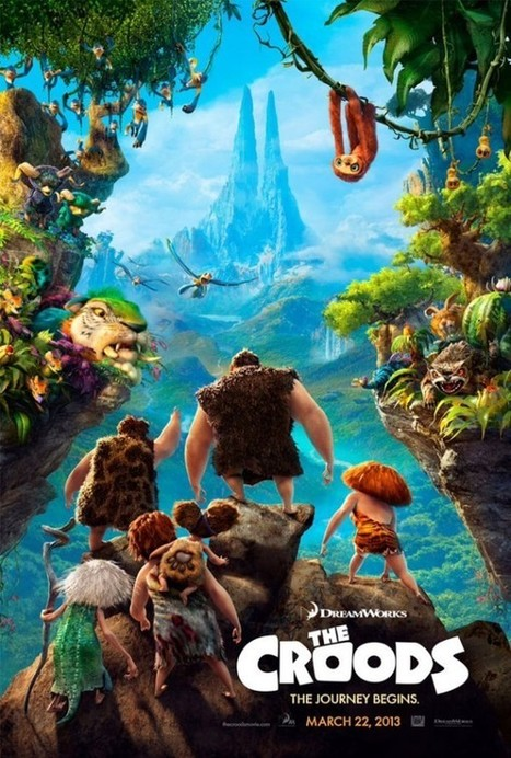 Dreamworks Have Published Their Croods Trailers In 3D | Animation News | Scoop.it