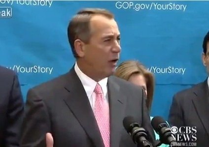 Watch John Boehner Unleash on the Tea Party: 'This is Ridiculous!' | Daily Crew | Scoop.it