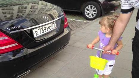 Russian Man Displays Parenting Done Right - Jalopnik   Kids Activities   Scoop.it