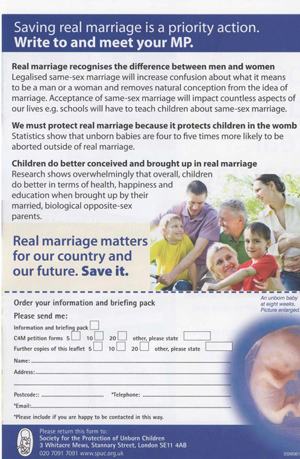Pro-life group say marriage equality could lead to an increase in abortions | Trade unions and social activism | Scoop.it