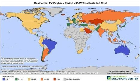 Global Solar Opportunity Tool (Beta Version): A Tool for Policymakers and Energy Analysts | http://cleanenergysolutions.org | Sustainable Energy | Scoop.it