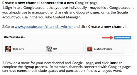 YouTube Creator Blog: Creating your next channel just got a lot easier | ALL OF GOOGLE PLUS WITH PHILIPPE TREBAUL ON SCOOP.IT | Scoop.it