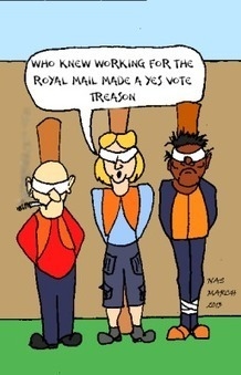 Scottish Postal workers vote yes, for a yes vote. | YES for an Independent Scotland | Scoop.it