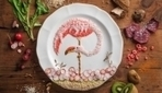 Creative Illustrations Of Birds That Are Made Out Of Carefully Arranged Food | Com Revolution | Scoop.it