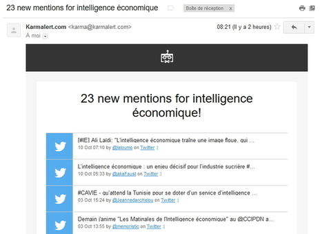 Karmalert, des alertes par mots-clés pour Twitter, Tumblr, Reddit et quelques autres | Outils Froids | François MAGNAN  Formateur Consultant | Scoop.it
