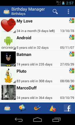 Birthday Manager PRO v3.0   ApkLife-Android Apps Games Themes   Android Applications And Games   Scoop.it