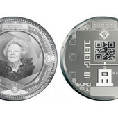The Dutch are Making QR-Coded Coins. Seriously. | Using QR Codes | Scoop.it