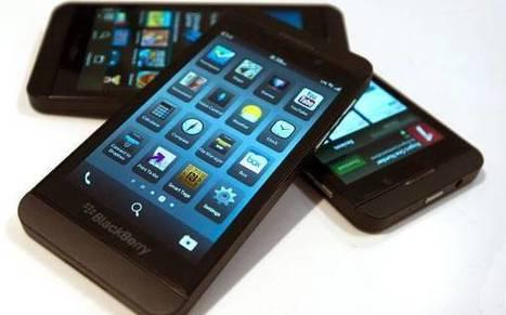 BlackBerry Z10: el celular que al fin está a la altura de la competencia | Celulares de alta gama | Scoop.it