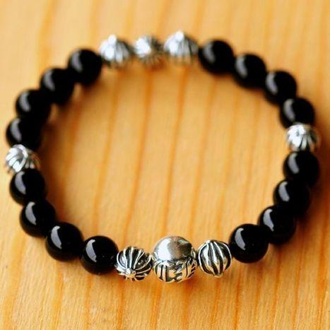Samurai Black Silver 2016 Chrome Hearts Kingbox Beads Bracelet On Sale [CH #ch2023] - $248.00 : Cheap Chrome Hearts | Chrome Hearts Online Store | Tayler Kula | Scoop.it
