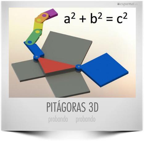 Pitágoras 3D, comprobando   Esquemat   Teoremas matemáticos   Scoop.it