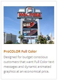 Get Scrolling LED signs of latest technology at best prices | Industrial Led Displays - Adsystemsled | Scoop.it