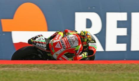 MotoGP Catalunya: Happy Rossi hails 'best dry race' of 2012   BSN   Ductalk Ducati News   Scoop.it
