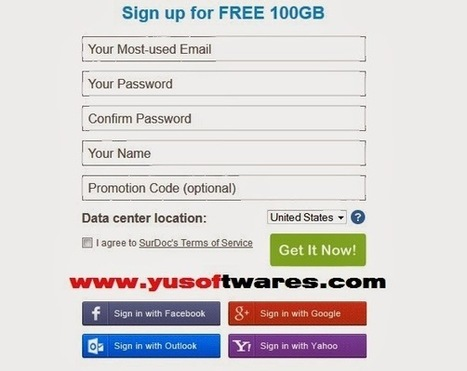 Get 100 GB of Free Cloud Storage on SurDoc   Software, Technology news and Gadget Reviews   Scoop.it