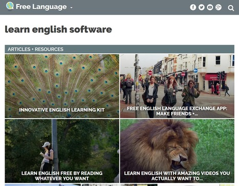 English | learn english software | Free Language | FOTOTECA LEARNENGLISH | Scoop.it