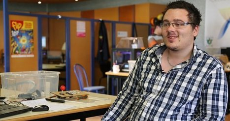 Au FabLab Solidaire de Parthenay, Christopher se forme différemment | Innovation sociale | Scoop.it