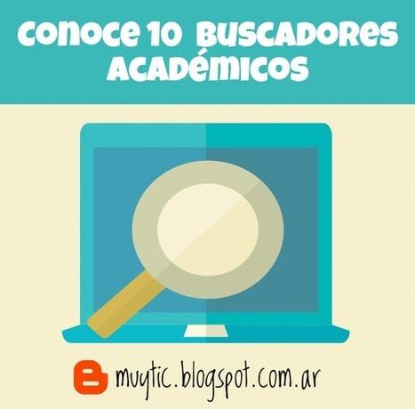 10 buscadores académicos que te ayudarán a encontrar contenido especializado | TIC para la educación | EduTIC | Scoop.it