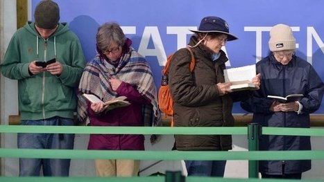 E-books to outsell print by 2018 | Library and Information Science | Scoop.it