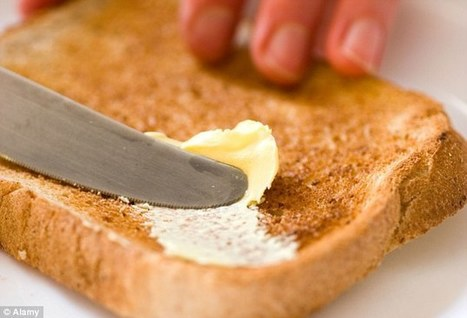 Butter ISN'T bad for you after all: Major study says 80s advice on dairy fats was flawed | nutrition | Scoop.it