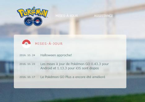 Pokemon Go : le phénomène se réactive pour Halloween | Marketing et Promotions | Scoop.it