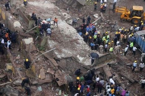 Amazing Photos from Collapsed Building in India | History of Disasters | Devastating Disasters in History | Scoop.it