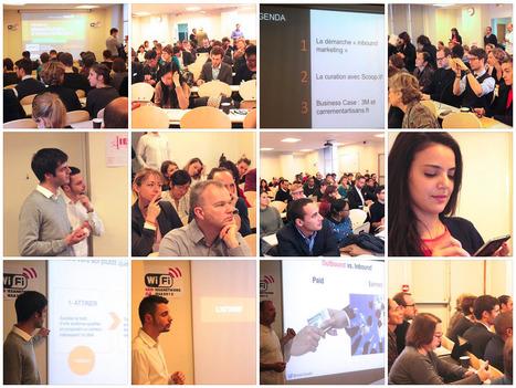 Photos Petit-déjeuner Inbound Marketing et Curation de Contenus #SCMWdej | Stratégies de contenu - #SCMW2015 | Scoop.it